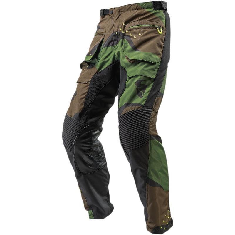 Pantalon enduro Thor Terrain vert camouflage