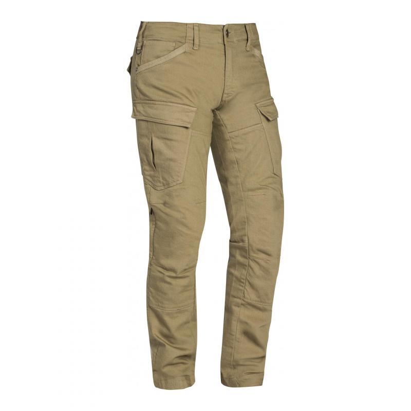 Pantalon moto Ixon Cargo sable