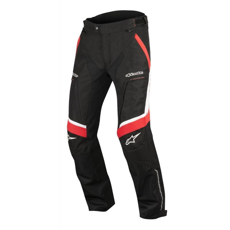 Pantalon textile Alpinestars Ramjet Air noir/rouge/blanc