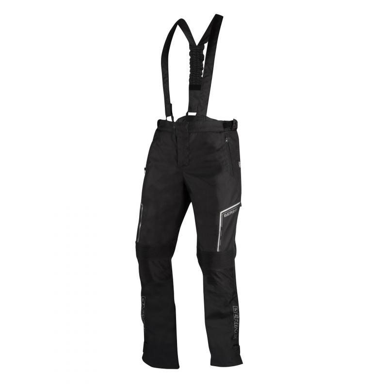Pantalon textile Bering Dusty noir