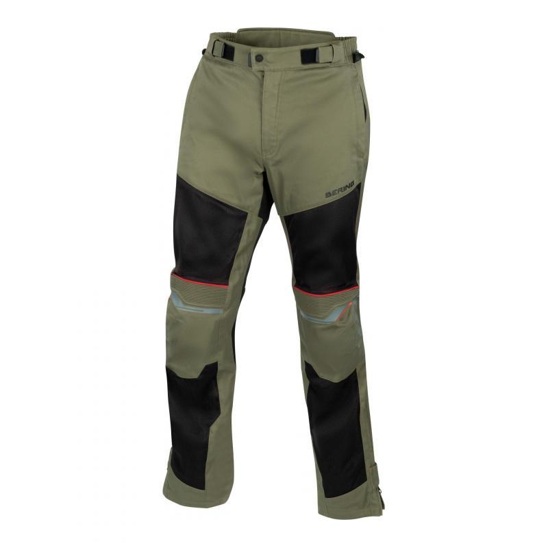 Pantalon textile été Bering Bamako marine/gris