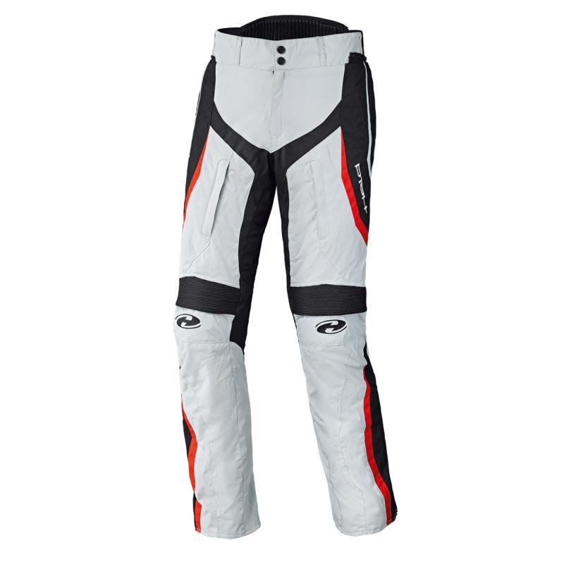 Pantalon textile femme Held Link gris/rouge