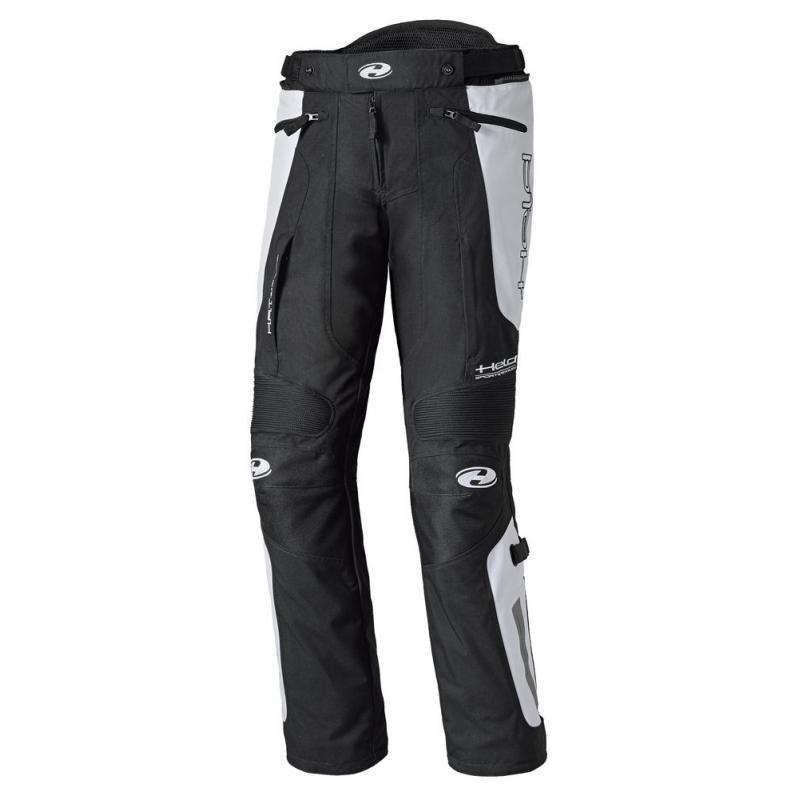 Pantalon textile Held DOVER noir/blanc