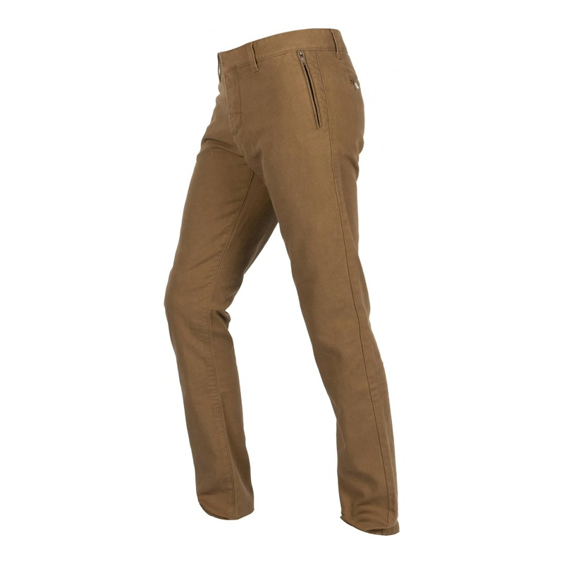 Pantalon textile Helstons Chino Armalith kaki