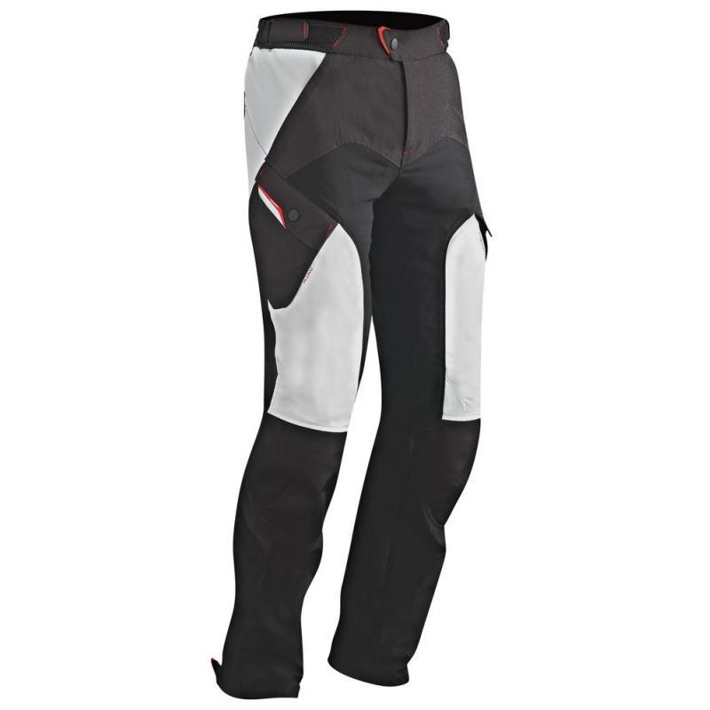 Pantalon textile Ixon CROSSTOUR PANT noir/gris
