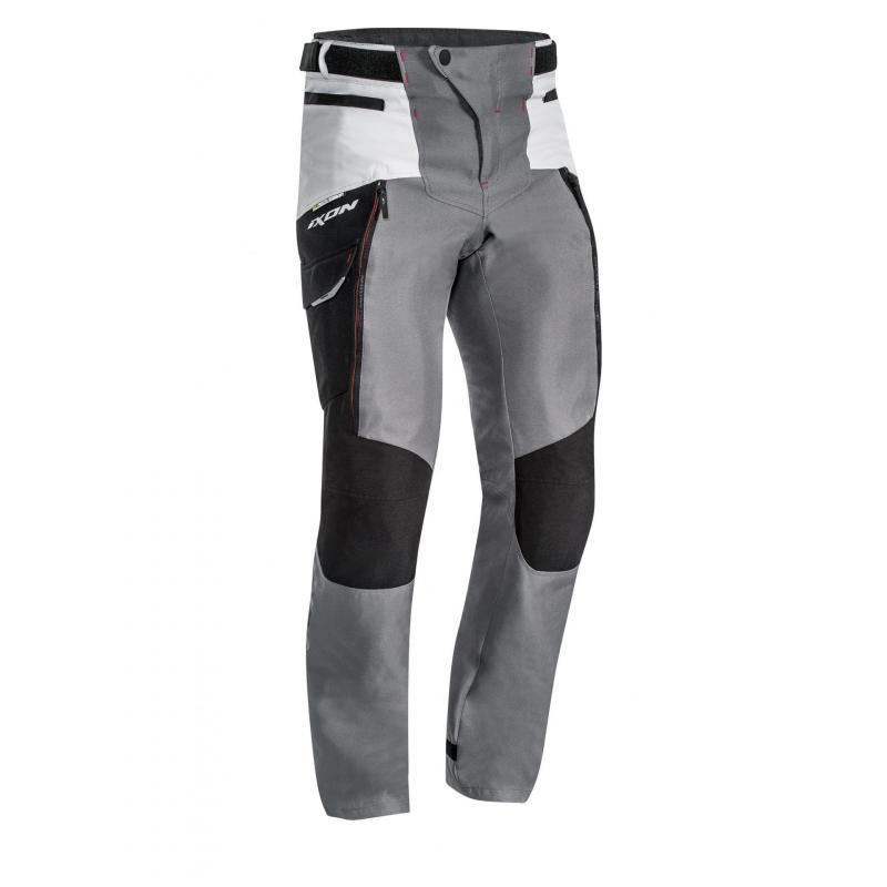 Pantalon textile Ixon Sicilia noir/gris/rouge