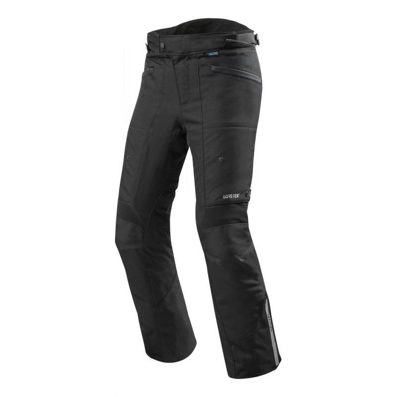 Pantalon textile Rev'it Neptune 2 Gore-Tex (court) noir