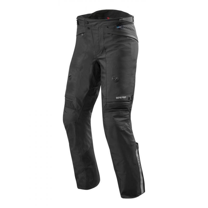Pantalon textile Rev'it Poseidon 2 Gore-Tex (long) noir