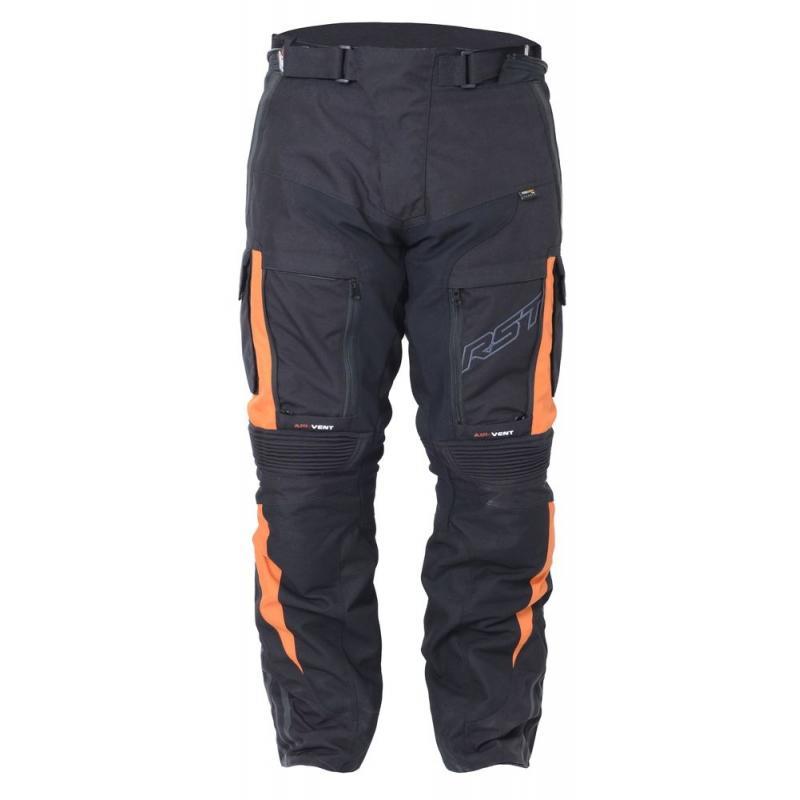 Pantalon textile RST Pro Series Adventure III orange