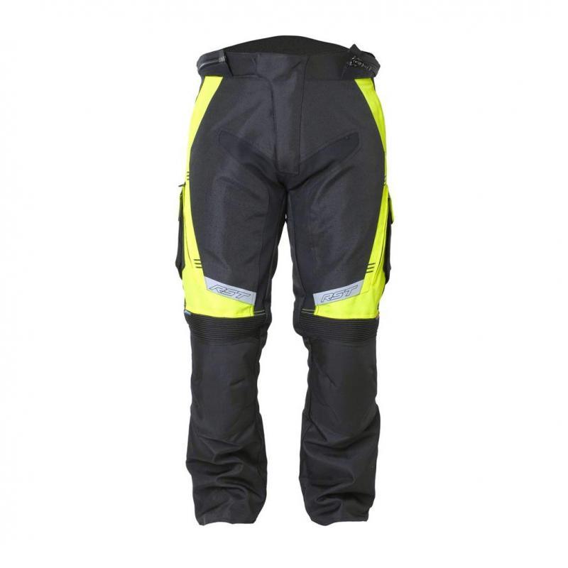 Pantalon textile RST Rallye jaune fluo