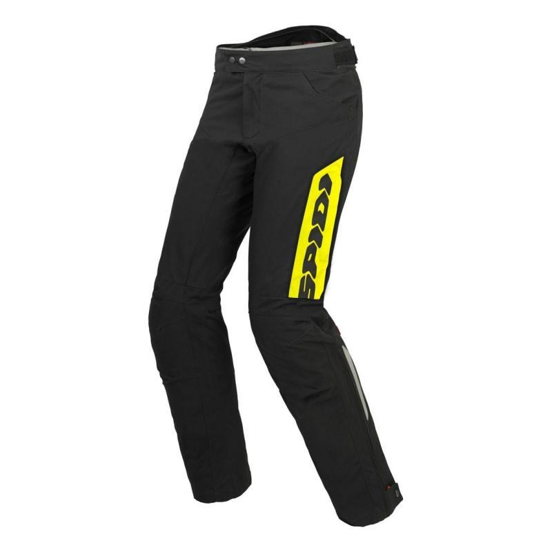 Pantalon textile Spidi THUNDER H2OUT jaune fluo