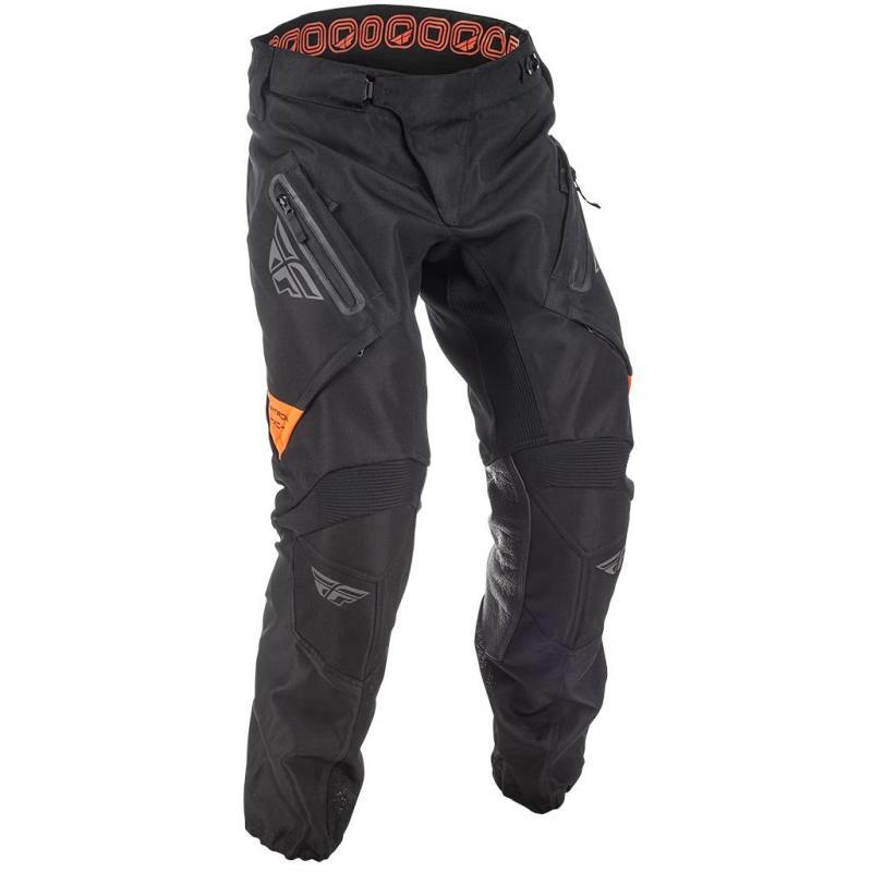 Pantalon tout-terrain Fly Racing Patrol XC noir