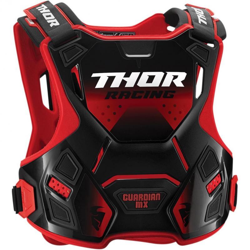 Pare-pierre Thor Guardian MX rouge/noir