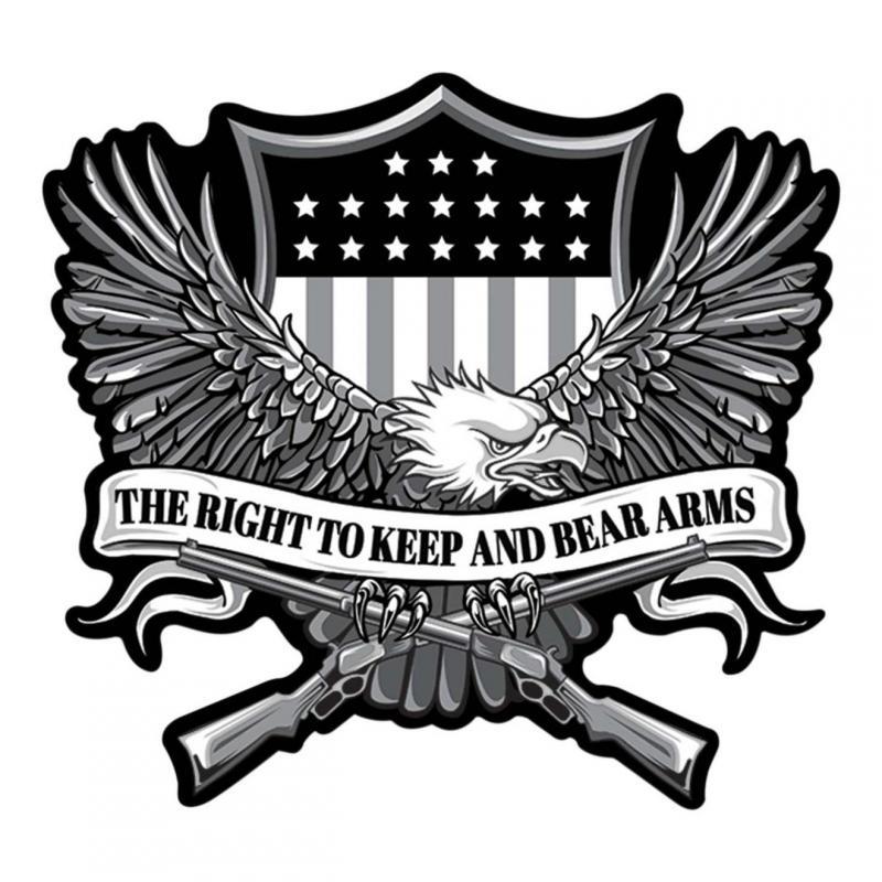 Patch Lethal Threat Aigle/ Droit de porter des armes