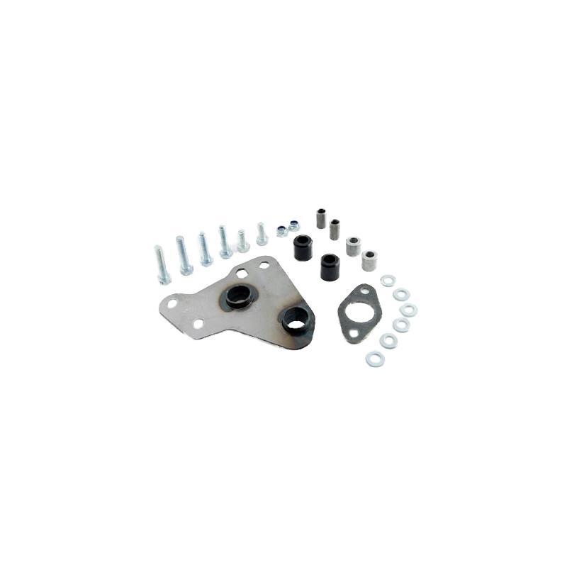 Patte de fixation pour pot Doppler S3R Peugeot Speedfight / Trekker