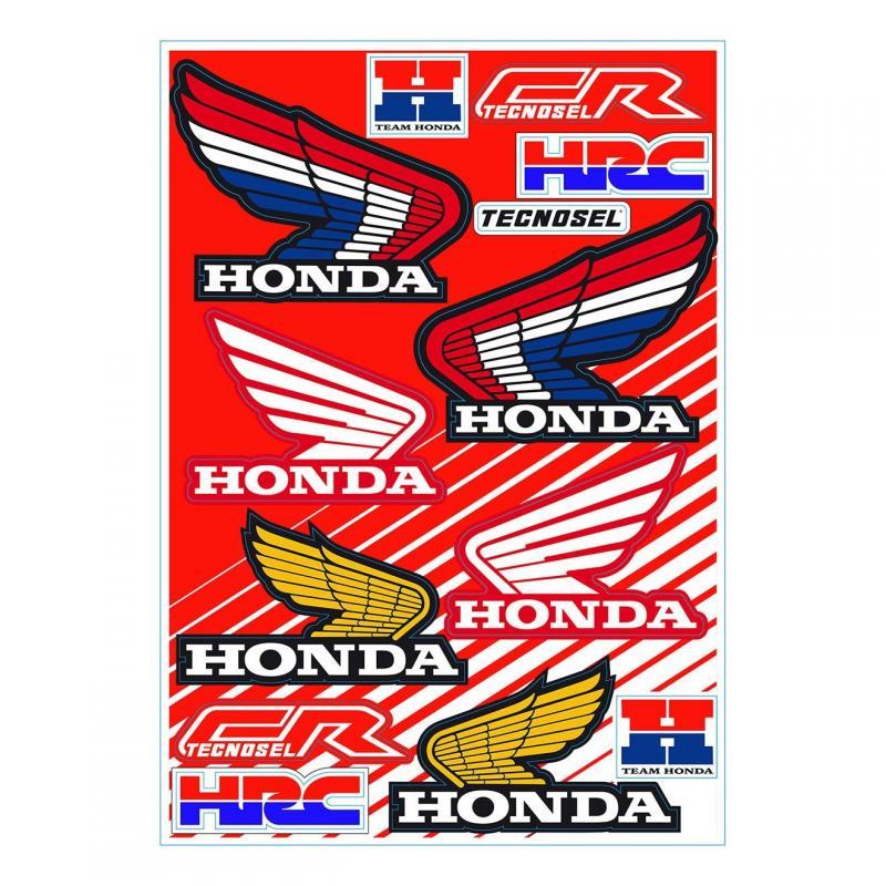 Planche autocollant Tecnosel Honda