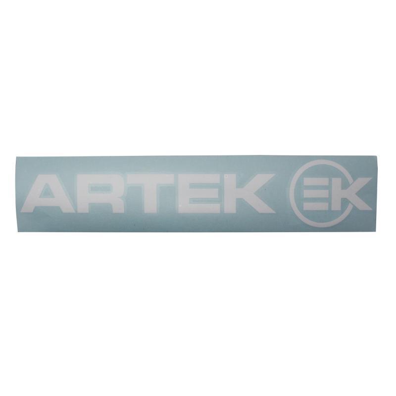 Planche d'autocollants Artek 39x9cm blanc