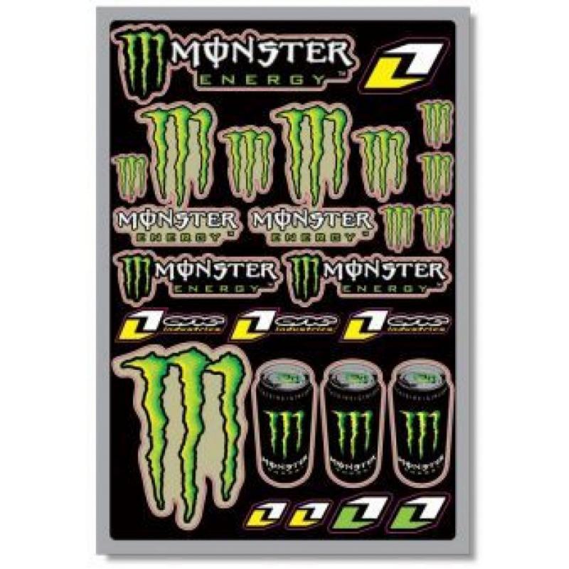 Planche d'autocollants One Industries/Monster