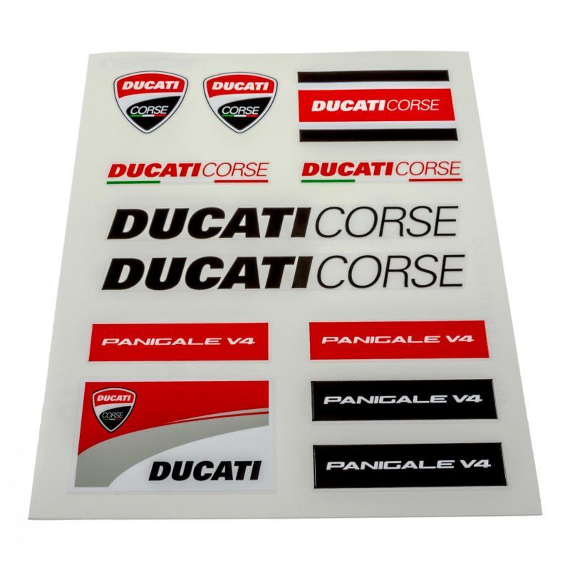 Planche stickers Ducati Racing (Grande)