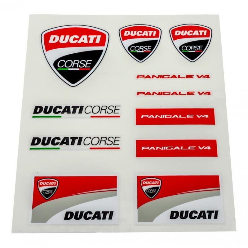 Planche stickers Ducati Racing (Moyenne)