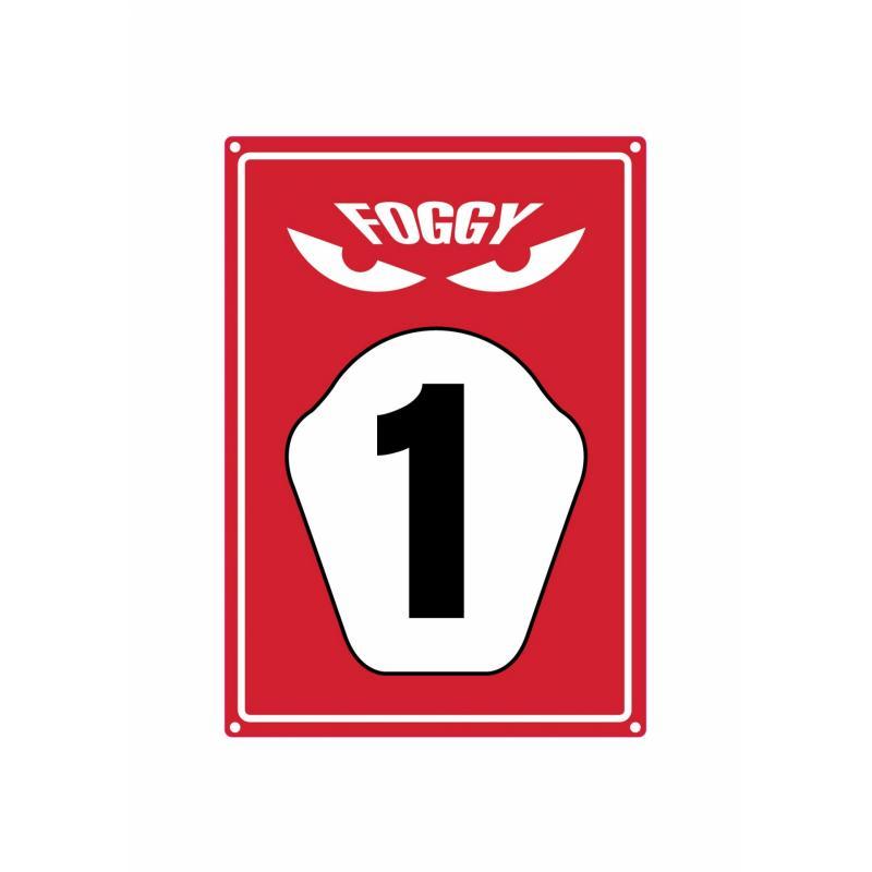 Plaque de parking Foggy
