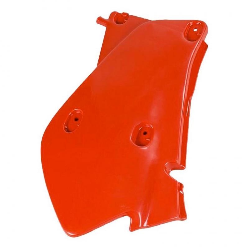 Plaque numéro latérale gauche UFO Honda XR 650R 00-07 rouge