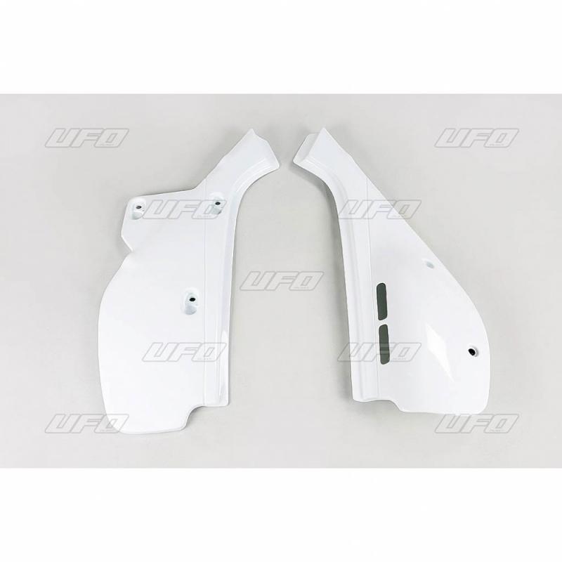Plaque numéro latérale UFO Honda XR 600R 88-02 blanc