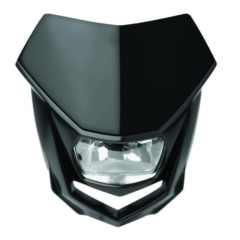 Plaque phare Polisport Halo noir