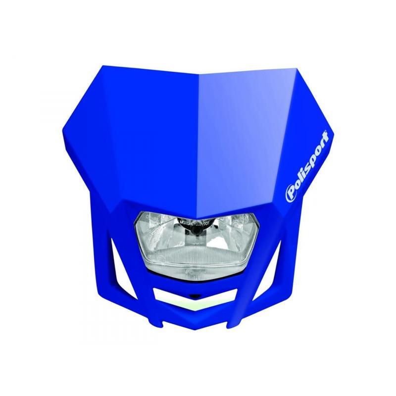 Plaque phare Polisport LMX bleu