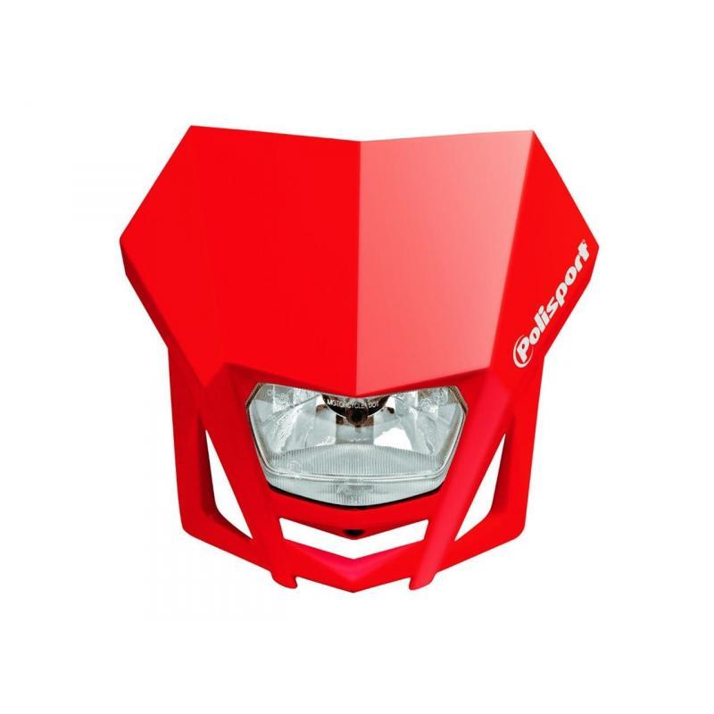 Plaque phare Polisport LMX rouge