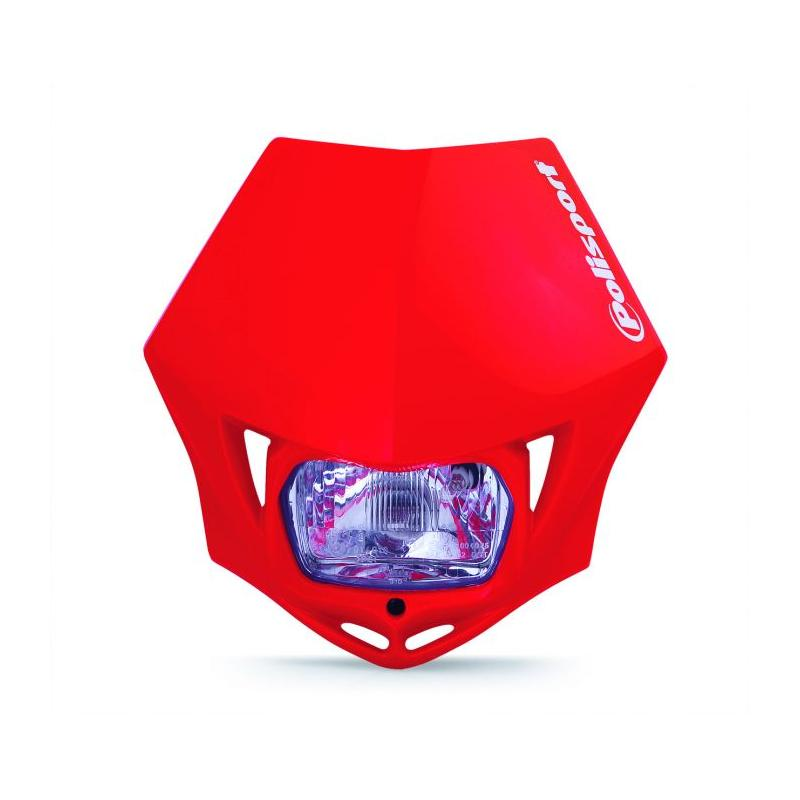 Plaque phare Polisport MMX Rouge Honda