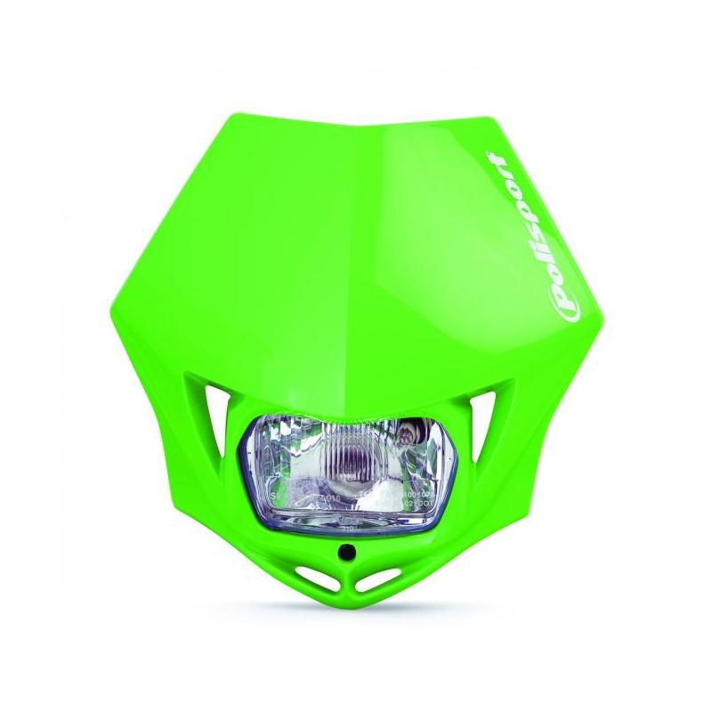 Plaque phare Polisport MMX Verte