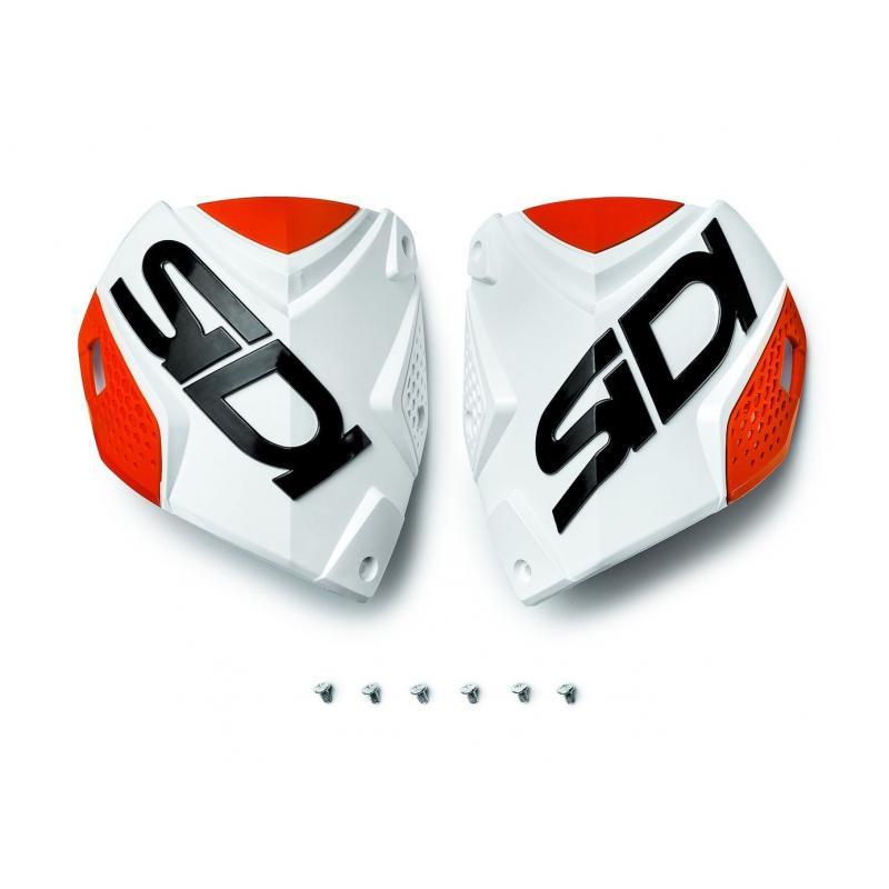 Plaque tibiale Sidi Crossfire 2 Blanc/Orange