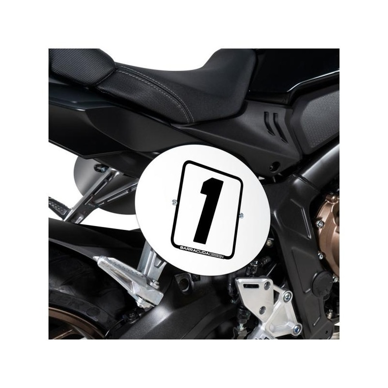 Plaques latérales Barracuda aluminium Honda CB 650 R 19-20