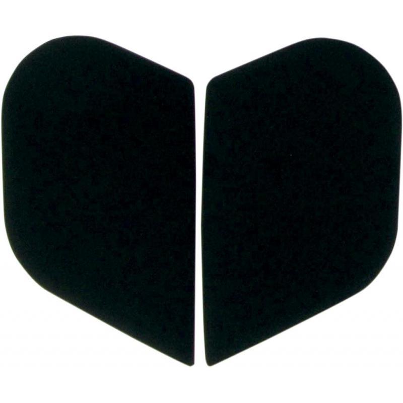 Plaques latérales Icon Alliance noir mat