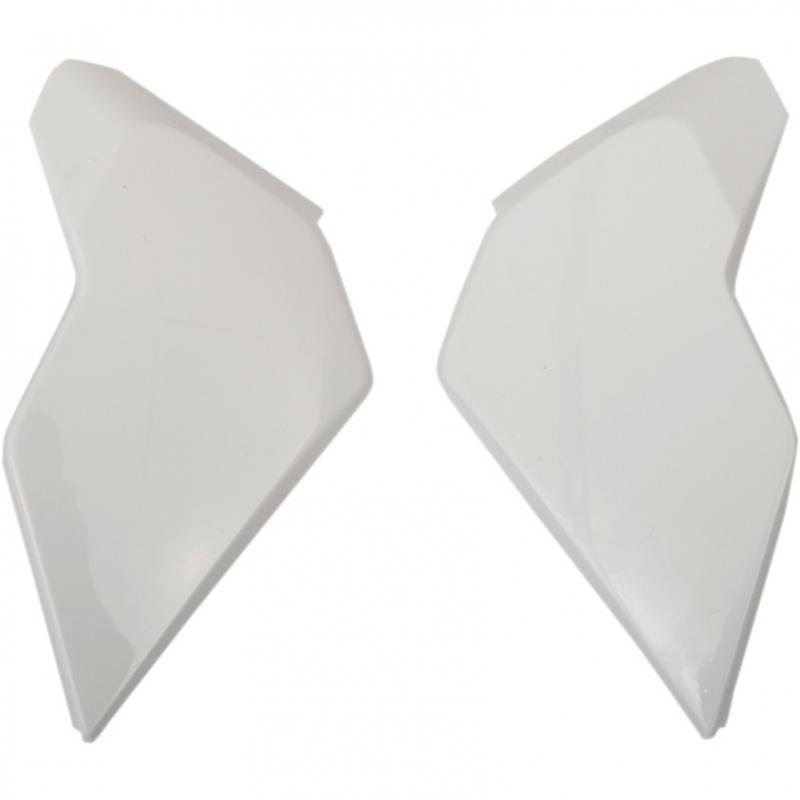 Plaques latérales Icon pour casque Airflite blanc