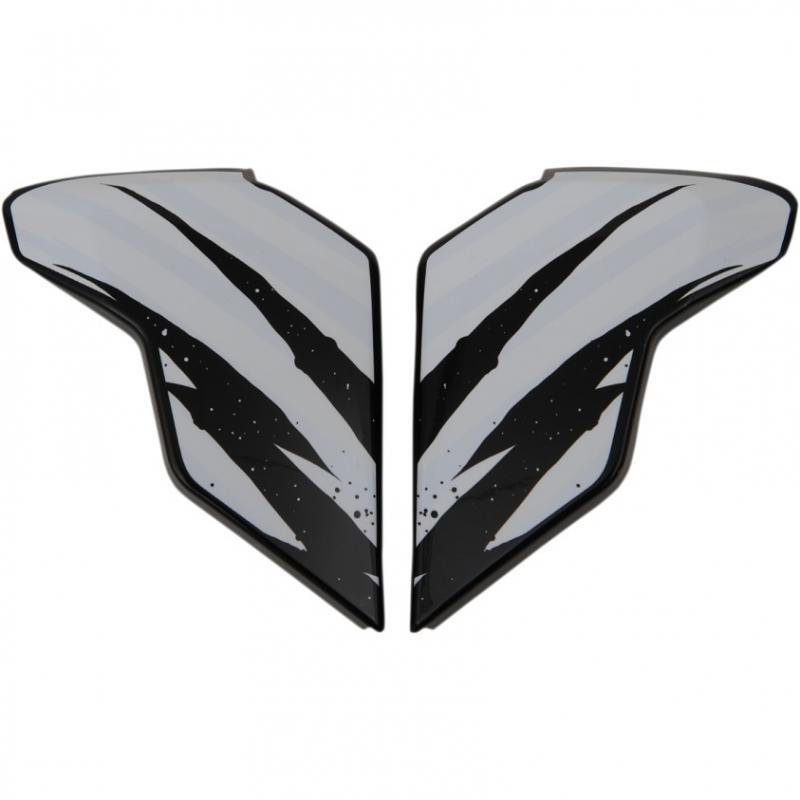 Plaques latérales Icon pour casque Airflite Fayder blanc