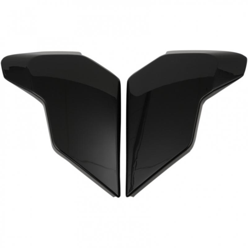 Plaques latérales Icon pour casque Airflite noir