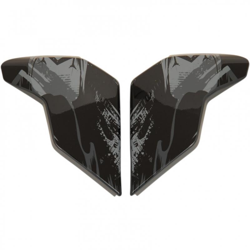 Plaques latérales Icon pour casque Airflite Stim noir