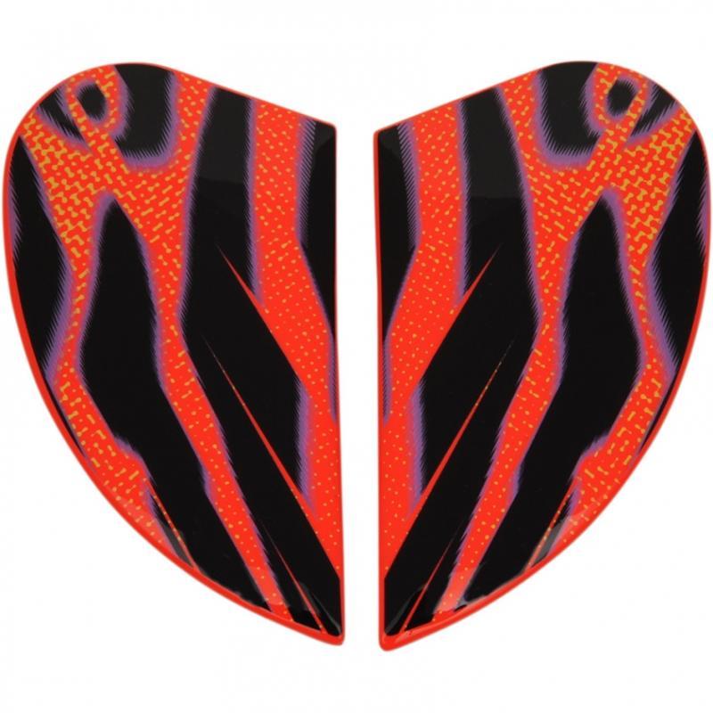 Plaques latérales Icon pour casque Airmada Wild Child orange