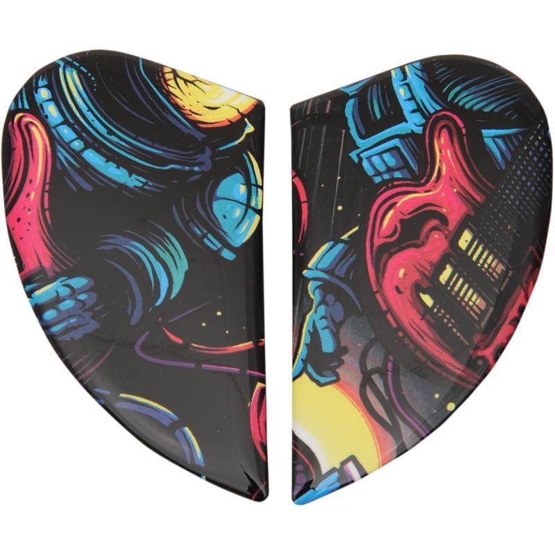 Plaques latérales Icon pour casque Airmada Space-Bass-Face