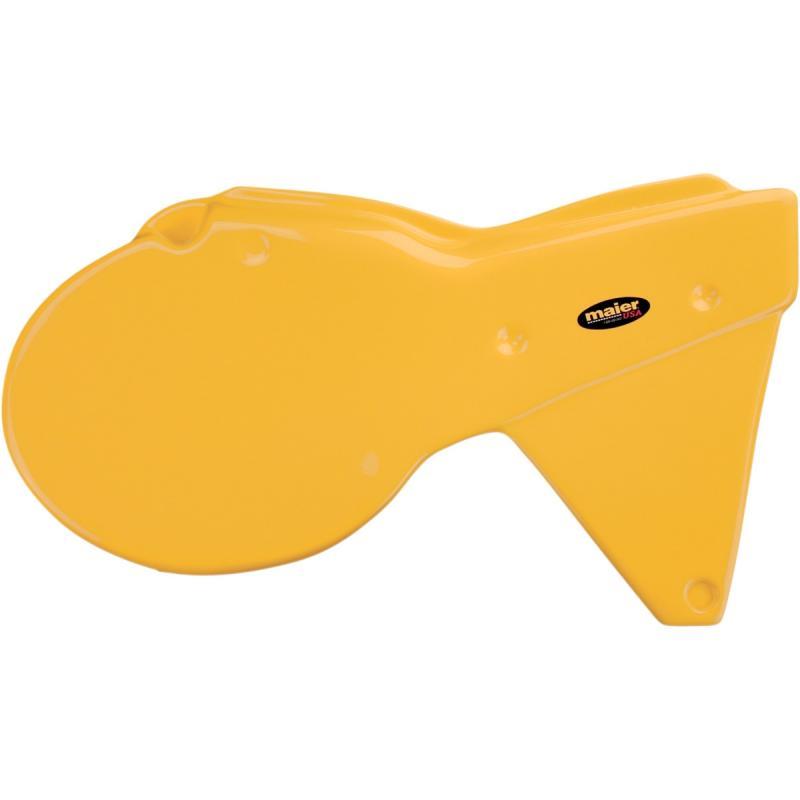 Plaques latérales Maier USA Yamaha 250 YZ 80-81 jaune