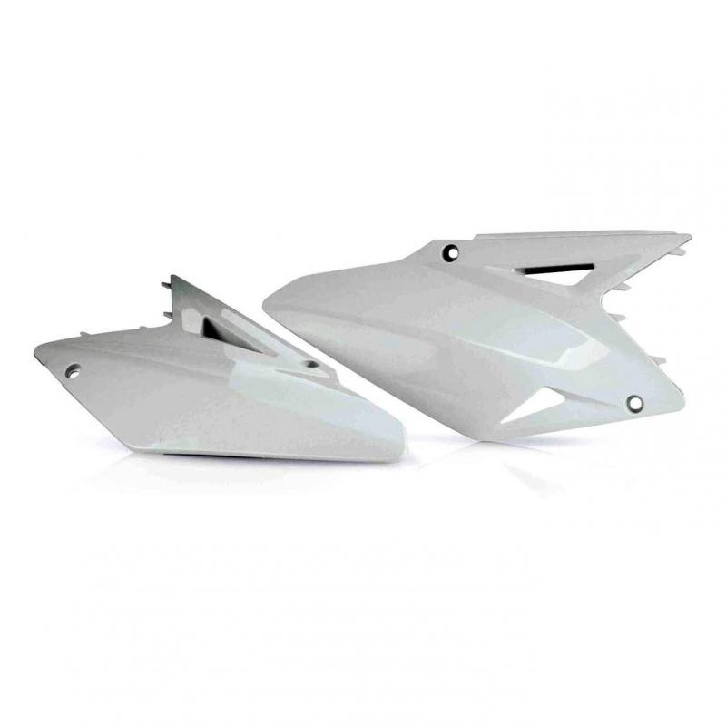 Plaques numéro latérales Acerbis Suzuki 450 RMZ 08-17 blanc (paire)