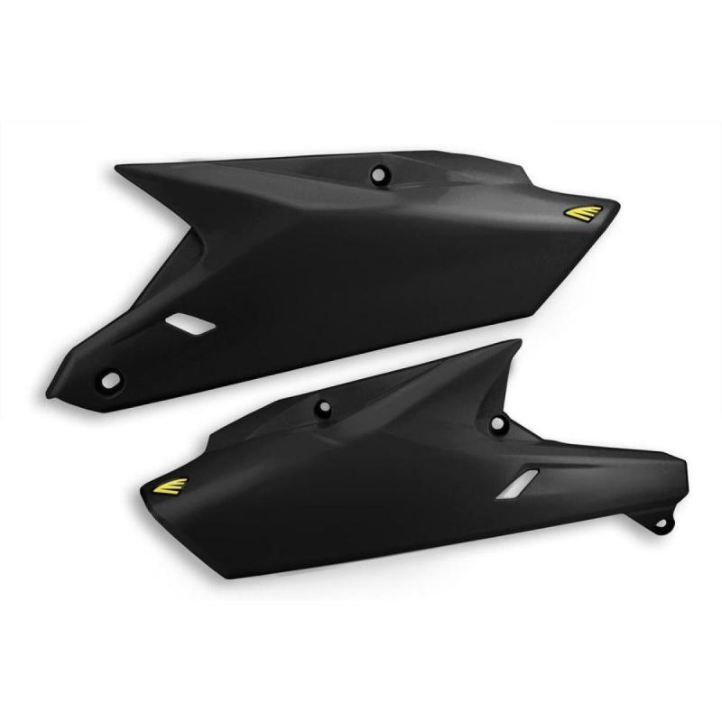 Plaques numéro latérales Cycra Suzuki 450 RM-Z 08-17 noir