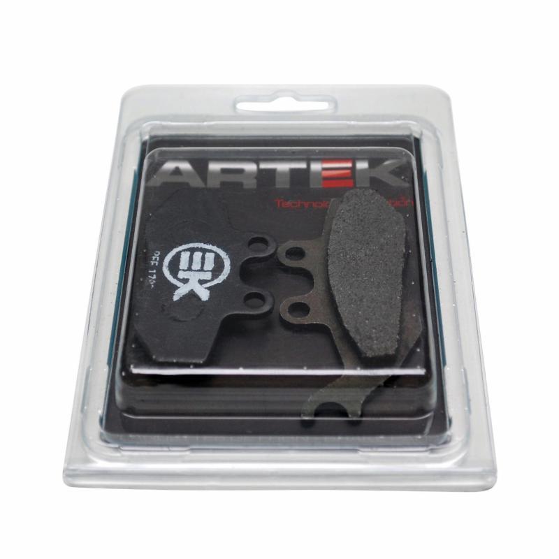Plaquettes de frein Artek k1 avant pour derbi senda drd 2005>/xtrem 2005>/MBK x-power 2003>/Yamaha t