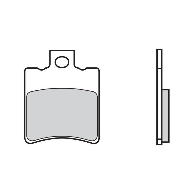 Plaquettes de frein Brembo 07002CC carbone céramique avant