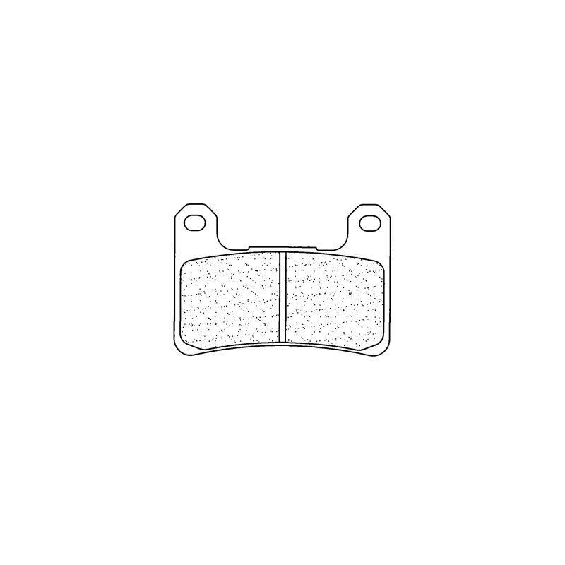 Plaquettes de frein Carbone Lorraine 1133C60