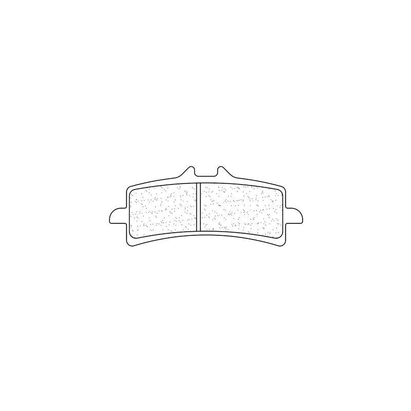 Plaquettes de frein Carbone Lorraine 1185A3+