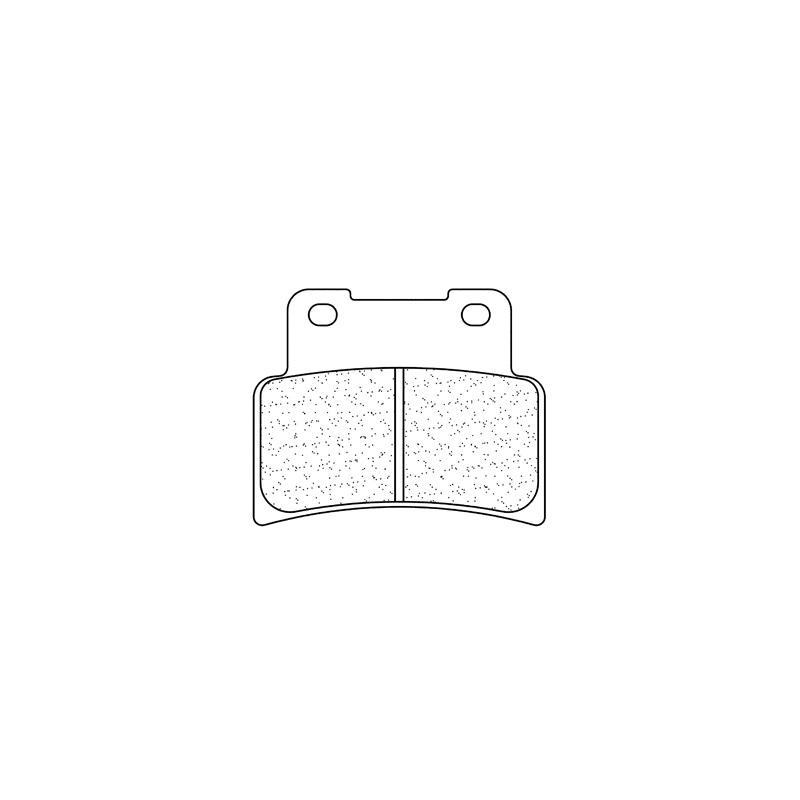 Plaquettes de frein Carbone Lorraine 1187A3+