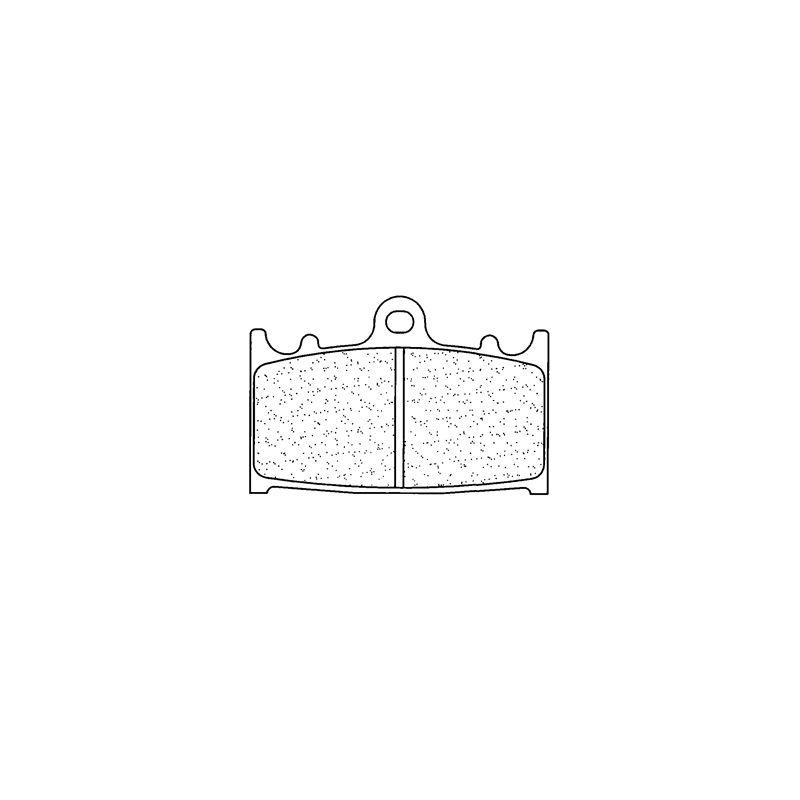 Plaquettes de frein Carbone Lorraine 2251A3+